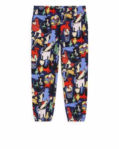 Artist Edition Printed Sweatpants Dark Blue/multicolour