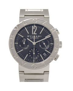 Bvlgari Bvlgari Chronograph Automatic Watch Silver