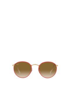 Rb3447jm Red On Legend Gold Solglasögon