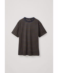 Relaxed-fit Striped T-shirt Navy / Khaki