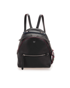 Fendi By The Way Leather Backpack Black