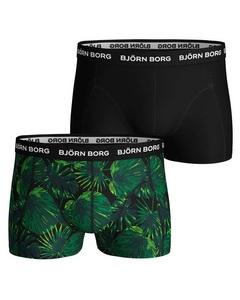 Björn Borg 2-pack Trunks Scott Tropical Leaf Flerfargad