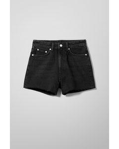 Rowe Denim Shorts Echo Black
