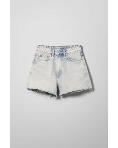 Rowe Denim Shorts Morning Blue