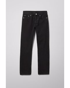Wire High Straight Jeans Almost Black