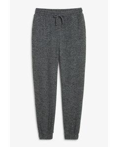 Melange Sweatpants Dark Grey