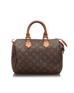 Louis Vuitton Monogram Speedy 25 Brown