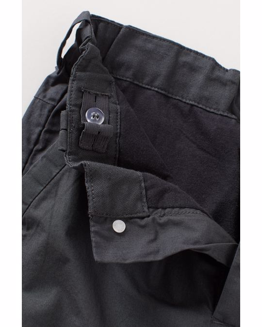 H&M Lined cargo trousers Dark grey