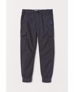 Bobo Lined Trousers Grey