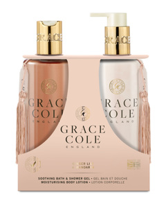 Grace Cole Ginger Lily & Mandarin Body Care Duo Set