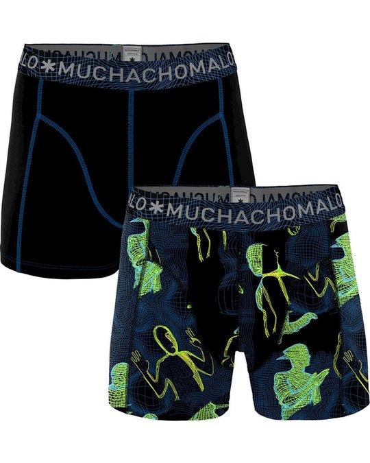 Muchachomalo Muchachomalo 2-Pack Grid Mehrfarben