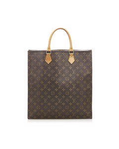 Louis Vuitton Monogram Sac Plat Brown