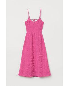 Rückenfreies Kleid Cerise