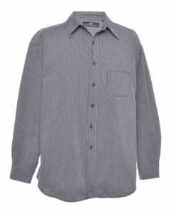 2000s Lee Striped Denim Shirt
