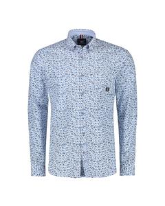 Overhemd Met Minimal Dessin
