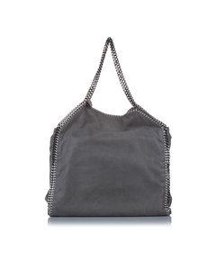 Stella Mccartney Falabella Fold-over Tote Bag Gray