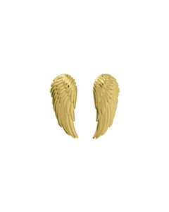 Angel Earrings Small Gold