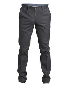 Dogstooth Trouser Modern Fit Greymelange
