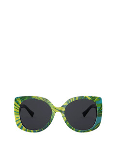 VE4387 print palms Sonnenbrillen