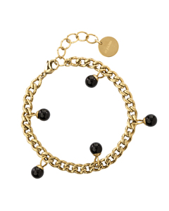 Chanel Pearl Braclet G Gold