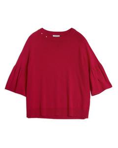 Molly Star Knit Carmosine Red