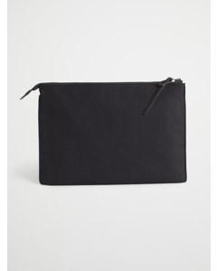 M. Wool Pouch Black