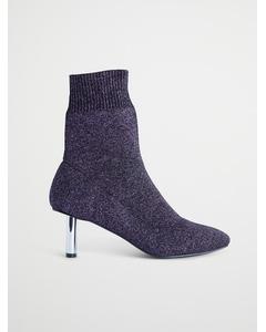 Glitter Boot, Lila