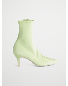 Stretchy Boot, Neon Yellow