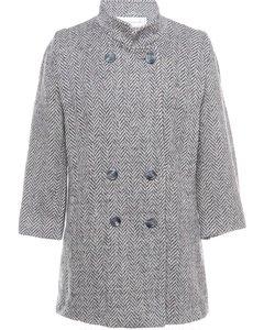 19890s Mackintosh Wool Coat