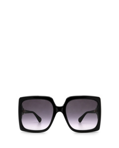 Gg0876s Shiny Black Zonnenbrillen
