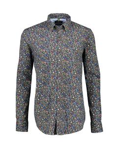 Alloverprint Lange Mouw Overhemd