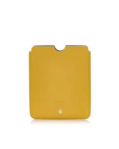 Bvlgari Leather Ipad Case Brown