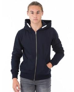 Zip Hood Blå
