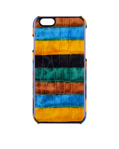 Iphone 6/6s Crocodile Rainbow Blue