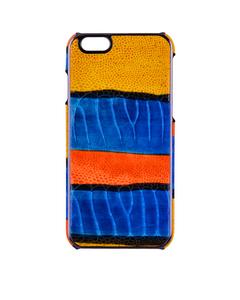 Iphone 6/6s Crocodile Multicolor Cobalt