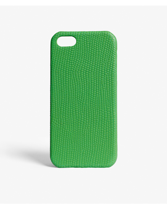 The Case Factory Iphone Se/5/5s Lizard Vibrant Green