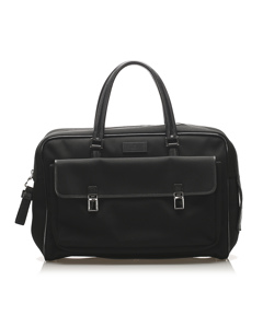 Gucci Canvas Business Bag Black