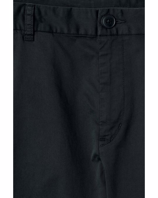 Weekday Forest Garment Dyed Chinos Black