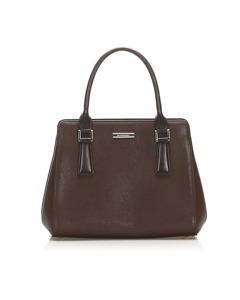 Burberry Leather Handbag Brown