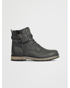 Boots Classic Buckle Grey