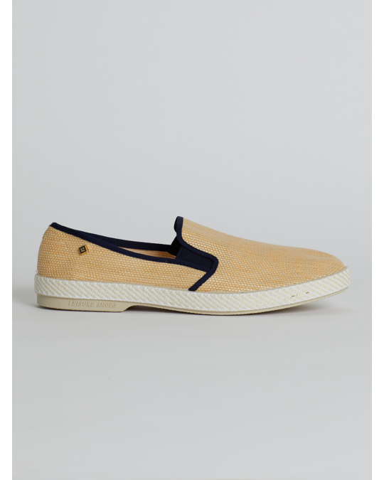 Rivieras Perforated Slip On Shoes White