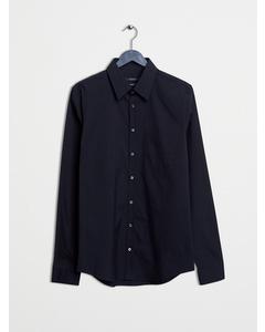 Stretched Feu Business Shirt Black