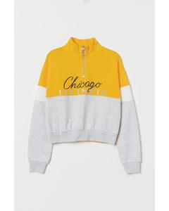 Boxig Sweatshirt Gul/chicago