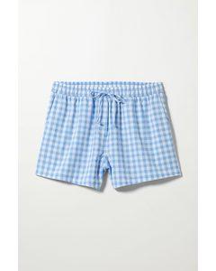 Ruta Check Shorts Blue Check