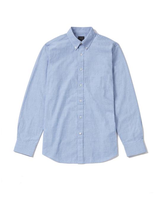 MVP Mvp Clovelly End-on-end Slim Fit Shirt - Pale Blue