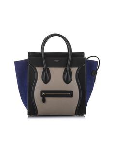 Celine Luggage Tote Leather Tote Bag Brown
