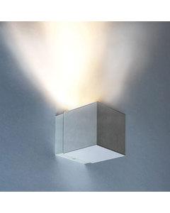 Dau 80 Gu10 W. Muur Light 1 X Gu10 8w Geborsteld Aluminium