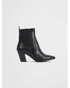 Biaceleste Leather Boot Black