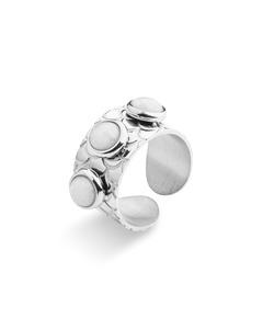 Samos Multistone Ring Silver