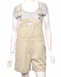 Calvin Klein Cropped Dungarees - W34
